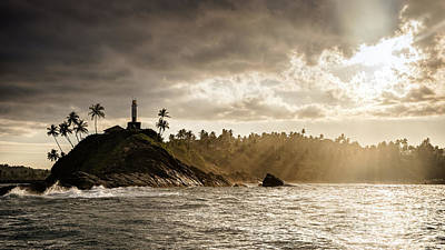 Photograph - Mirissa Lighthouse Sri Lanka by Daniel Heine