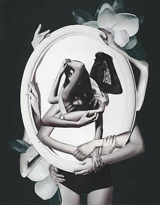 Modernism Mixed Media - Mirror by Anastasia Dolitsay