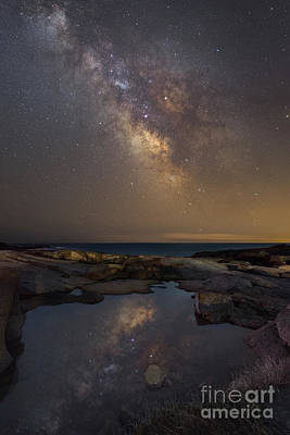 Eastcoast Lighthouses Photograph - Mirror Finish  by Michael Ver Sprill