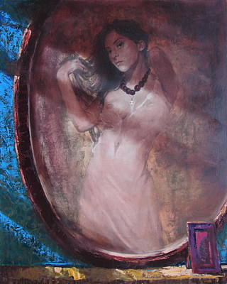 Mirror For The Sun Art Print by Sergey Ignatenko