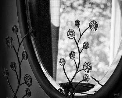 Photograph - Mirror I Bw by David Gordon