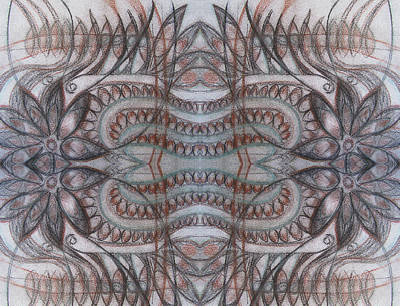Mirror Image Art Print by Ariela