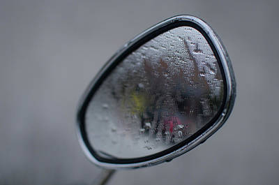 Photograph - Mirror In The Fog by Miguel Winterpacht