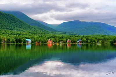 Photograph - Mirror Lake Alaska by Dee Browning