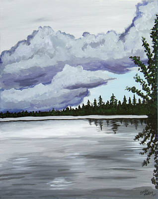 Painting - Mirror Lake by Christie Nicklay