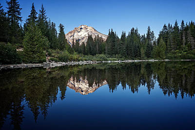 Photograph - Mirror Lake by Ian Good