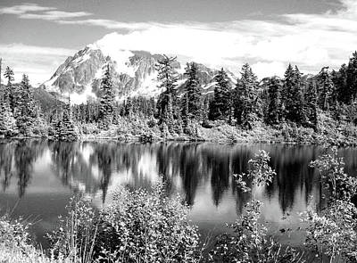 Photograph - Mirror Lake by Jenny Mead