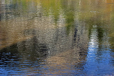 Photograph - Mirror Lake Reflections 04 13 by Walter Fahmy