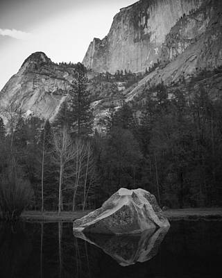 Photograph - Mirror Lake Rock by Dusty Wynne
