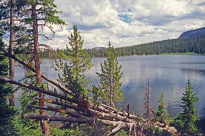 Mirror Lake Utah 3 Art Print by Steve Ohlsen