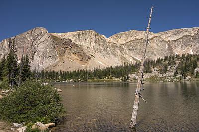 Photograph - Mirror Lake Wyoming by Loree Johnson