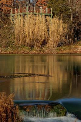 Mammoth Spring Photograph - Mirror Spring 2 by Douglas Barnett
