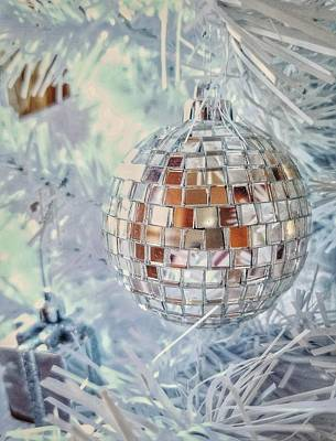 Photograph - Mirror Tree Ornament by Mary Capriole