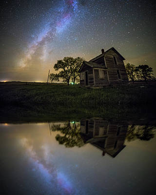 Photograph - Mirror Universe  by Aaron J Groen