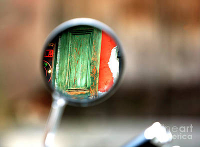 Photograph - Mirror View In The French Quarter by John Rizzuto