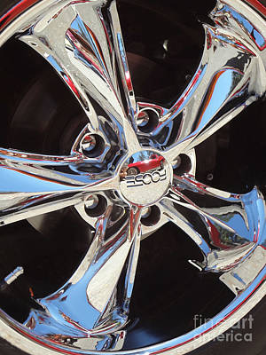 Photograph - Mirror Wheel by Gem S Visionary