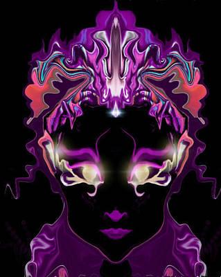 Digital Art - Mirror Wisdom by Subbora Jackson