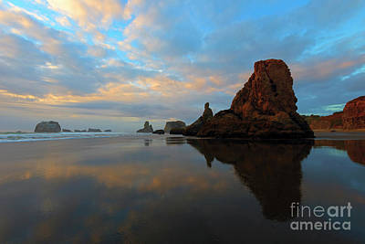 Photograph - Mirrored In The Sand by Mike Dawson