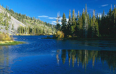 Photograph - Mirrored Lake by Gary Brandes