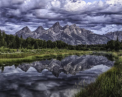 Photograph - Mirrored Mountains by Elizabeth Eldridge
