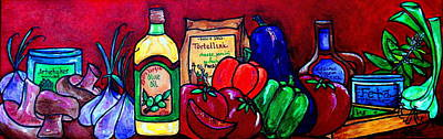 Painting - Mis En Place by Patti Schermerhorn