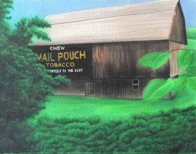 Mail Pouch Barn Painting - Misc- Mail Pouch Barn by Shawn Palek