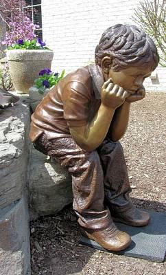 Sculpture - Mischief #1 by Ruth Gee