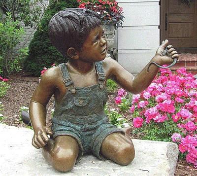 Sculpture - Mischief #2 by Ruth Gee