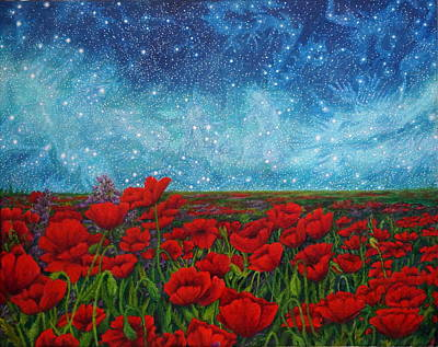Constellations Painting - Mischling by Matt Konar