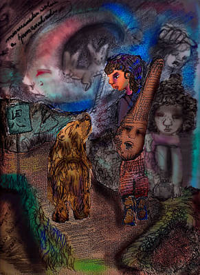 Misericordia Para A Humanidade Art Print by Cynthia Richards