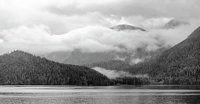 Photograph - Mists Over The Tongass by Peter J Sucy