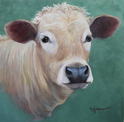 Painting - Miss Agnes by Cheri Wollenberg