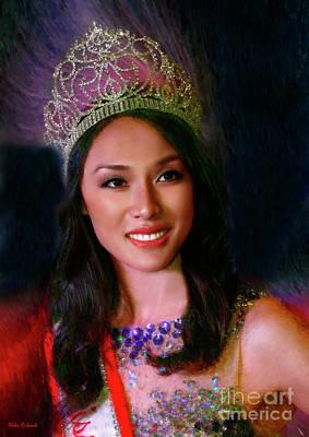 Photograph - Miss Asian America 2016 Jessica Lim by Blake Richards