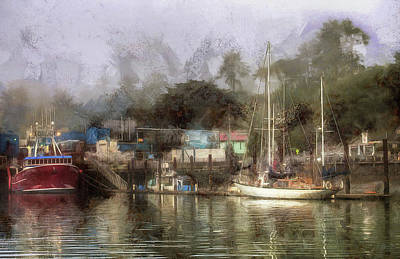 Photograph - Miss Birdie And The Sailboat by Thom Zehrfeld