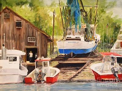 Painting - Miss Debbi by Keith Wilkie