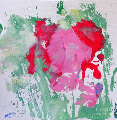 Painting - Miss Emma's Flowers by Fred Wilson