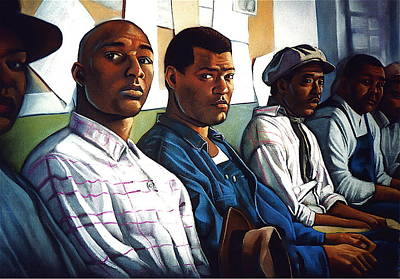 Miss Evers Boys Art Print by Curtis James
