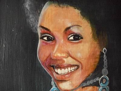 Miss Ingenuity  Art Print by Nixon Mwangi