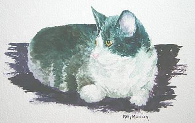 Miss Kitty Art Print