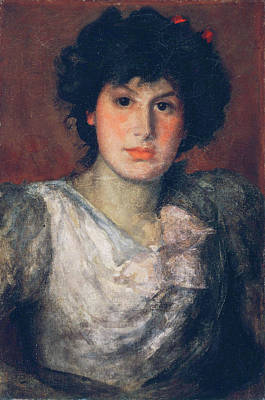 Whistler Painting - Miss Lillian Woakes by James Abbott McNeill Whistler