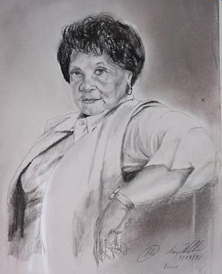 Miss Lilly Art Print