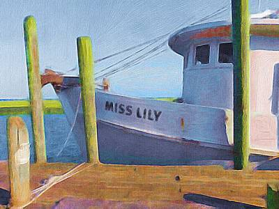Photograph - Miss Lily by Patricia Greer