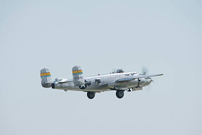 Photograph - Miss Mitchell Flyby by Randy Scherkenbach