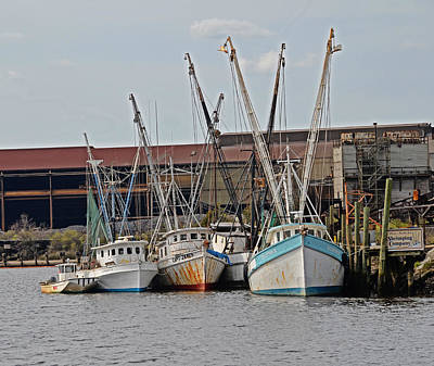 Photograph - Miss Nichole's Shrimping Company by Linda Brown