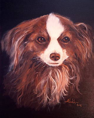 Painting - Miss Pippin by Alan Lakin