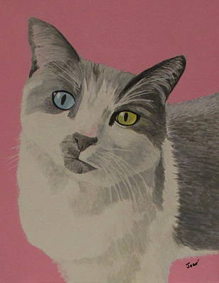 Painting - Miss Pretty Kittie by Hilda and Jose Garrancho