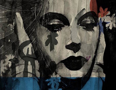 Portrait Mixed Media - Miss Sarajevo  by Paul Lovering