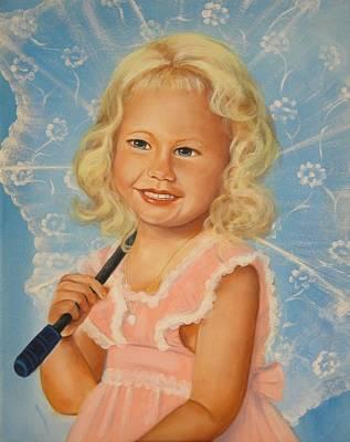 Miss Sunshine Art Print by Joni McPherson