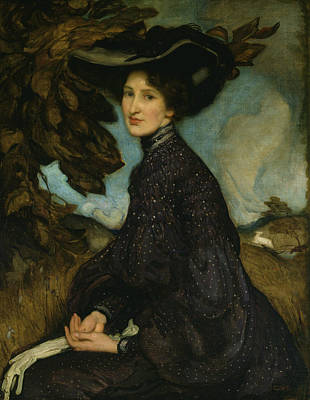 Painting - Miss Thea Proctor by George Washington Lambert
