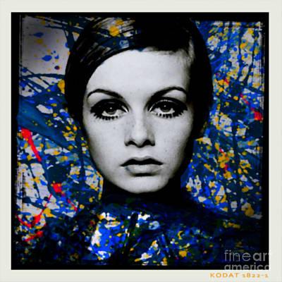Dadaismus Painting - Miss Twiggy Dadaismus by Felix Von Altersheim